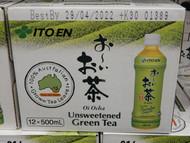 Ito En Oi Ocha Green Tea 12 x 500ML   Fairdinks