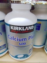 Kirkland Signature Calcium Plus 600Mg 500 CT | Fairdinks