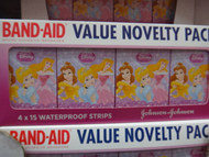Band-Aid Value Novelty Pack 4 x 15 Disney Frozen
