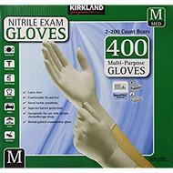 Kirkland Signature Nitrile Exam Gloves Med 2 x 200 Count | Fairdinks