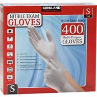 Kirkland Signature Nitrile Exam Gloves Small 2 x 200 Count | Fairdinks