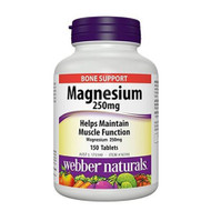 Webber Naturals Magnesium Plus 250mg 150CT | Fairdinks | Fairdinks