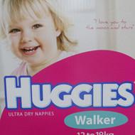 Huggies Nappies Walker Girl 132 Count. 13 to 18 KG | Fairdinks