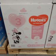 Huggies Nappies Size 3 Crawler Girl 184 Count