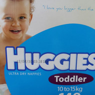 Huggies Nappies Toddler Boy 148 Count. 10 to 15 KG | Fairdinks