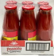 Sole Natura Passata Tomato Cooking Sauce 6 Bottles | Fairdinks