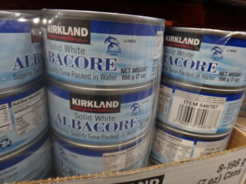 Ks Solid White Albacore Tuna 8 X 198g Fairdinks