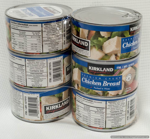 Kirkland Signature Premium Chicken 6 x 354G | Fairdinks