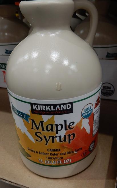 Kirkland Signature Organic Maple Syrup 1L | Fairdinks
