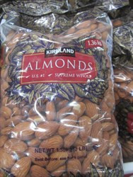 Kirkland Signature Whole Almonds 1.36KG | Fairdinks