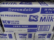 Devondale Long Life Full Cream Milk 10 x 1L | Fairdinks