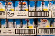 Dole Pineapple Juice 24 x 240ml cans | Fairdinks