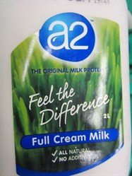 A2 Dairy Full Cream Milk 2 Litre | Fairdinks