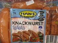 Hans Knackwurst 1kg | Fairdinks