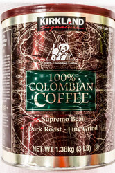 Kirkland Signature 100% Colombian Ground Coffee 1.36KG | Fairdinks