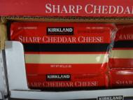 Kirkland Signature Sharp Cheddar Cheese 907G