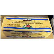 Kirkland Signature Sliced American Cheese 2.27KG -  slices