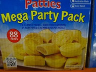 Patties Mixed Party Pack 88 pack | Fairdinks