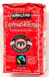 Kirkland Signature Espresso Whole Bean Roasted by Starbucks 907G