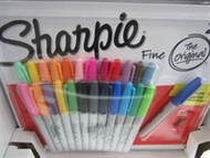 Sharpie Permanent Fine Marker 24pack + 1 | Fairdinks