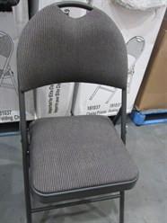 Elite Classic Padded Folding Chair - 1   Fairdinks