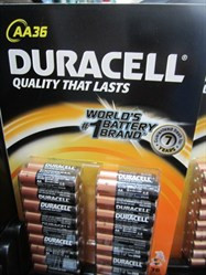 Duracell Alkaline Batteries AA 36 Pack | Fairdinks