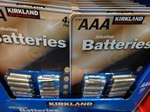 Kirkland Signature Alkaline Batteries AAA 48 Pack | Fairdinks