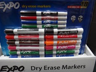 EXPO Whiteboard Markers Assorted 14 + 4 Pack | Fairdinks