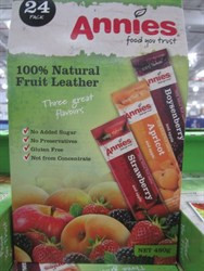 Annies Natural Fruit Leather 24 x 20g | Fairdinks