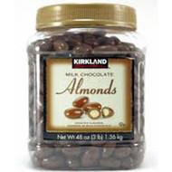 Kirkland Signature Milk Chocolate Almonds 1.36KG | Fairdinks