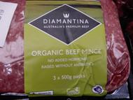 Organic Beef Mince 3 x 500g