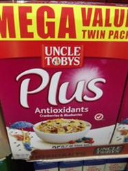 Uncle Tobys Plus Antioxidant 2 x 765   Fairdinks