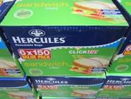 Hercules Clickzip Sandwich Bags 6 x 150 | Fairdinks