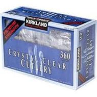 Kirkland Signature Clear Cutlery 360CT | Fairdinks