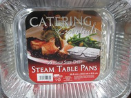 Catering Essentials Steam Table Pans Half Size. 30 Pieces | Fairdinks