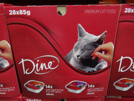 Dine Cat Food Variety Pack 28 x 85g | Fairdinks