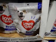 Love`em Beef Liver Treats 500g | Fairdinks