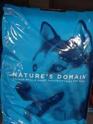 Nature's Domain Salmon Meal Dog Food 15.87 Kg | Fairdinks
