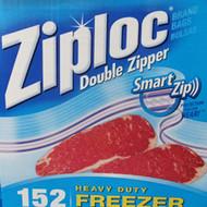 Ziploc Freezer Bag Gallon Size. 152 count | Fairdinks