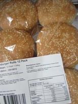 Tip Top Hamburger Buns 12 Pack | Fairdinks