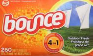 Bounce Fabric Softener Sheets 2 x 160 Sheets = 320
