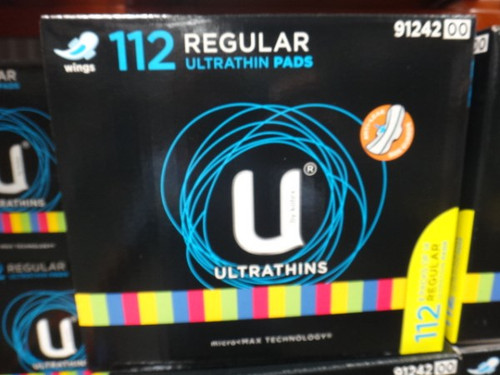 U By Kotex Ultrathins Regular 112 Count | Fairdinks