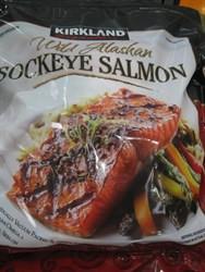Kirkland Signature Wild Alaskan Sockeye Salmon Frozen 1.36KG | Fairdinks