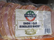 Tibaldi Short Cut Bacon 1KG | Fairdinks