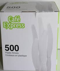 CafÌÎÌ__ÌÎå«Ì´å©e Express Plastic Knives 500 Count   Fairdinks