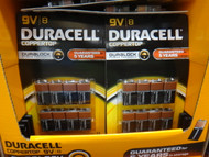 Duracell Alkaline Batteries 9V 8 Pack