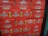 Peroni Red Italian Beer 24x 330ml Bottles   Fairdinks