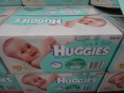 Huggies Baby Wipes Fragrance Free 648 Pack | Fairdinks