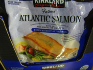Kirkland Signature Atlantic Salmon Portions 1.36Kg | Fairdinks