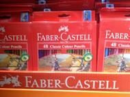 Faber Castell Classic Colour Pencils 48 Pack | Fairdinks